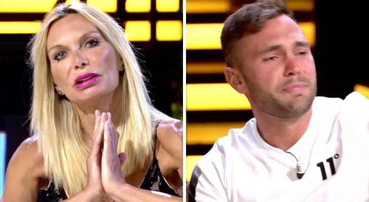 Yola Berrocal et Cristian Suescun dans le débat final de `` La casa fuerte ''