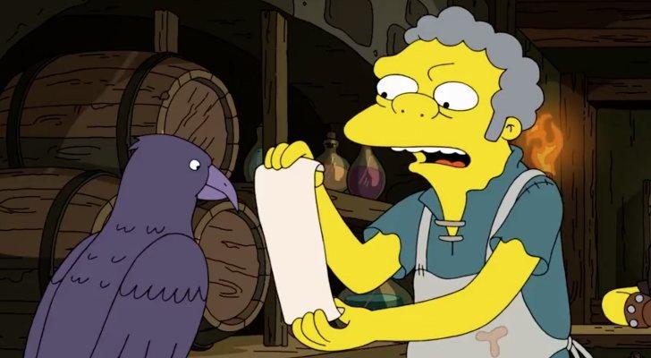 Moe dans 'The Simpsons'