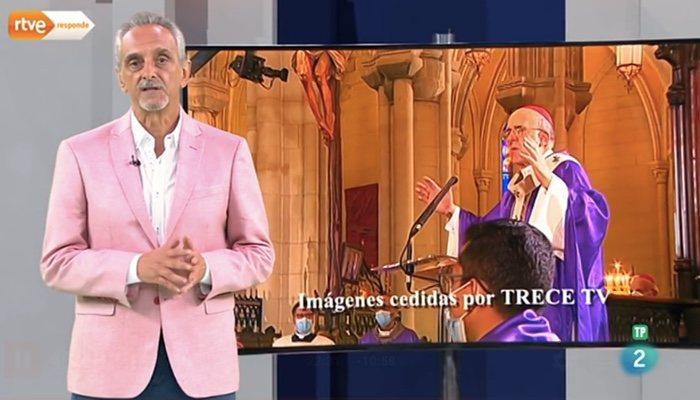 'RTVE Responde' explica la no emisión del acto
