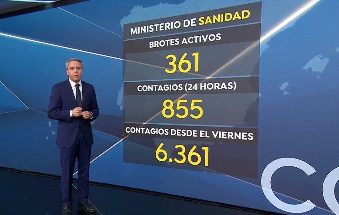 Vicente Vallés, dans 'Antena 3 Noticias'