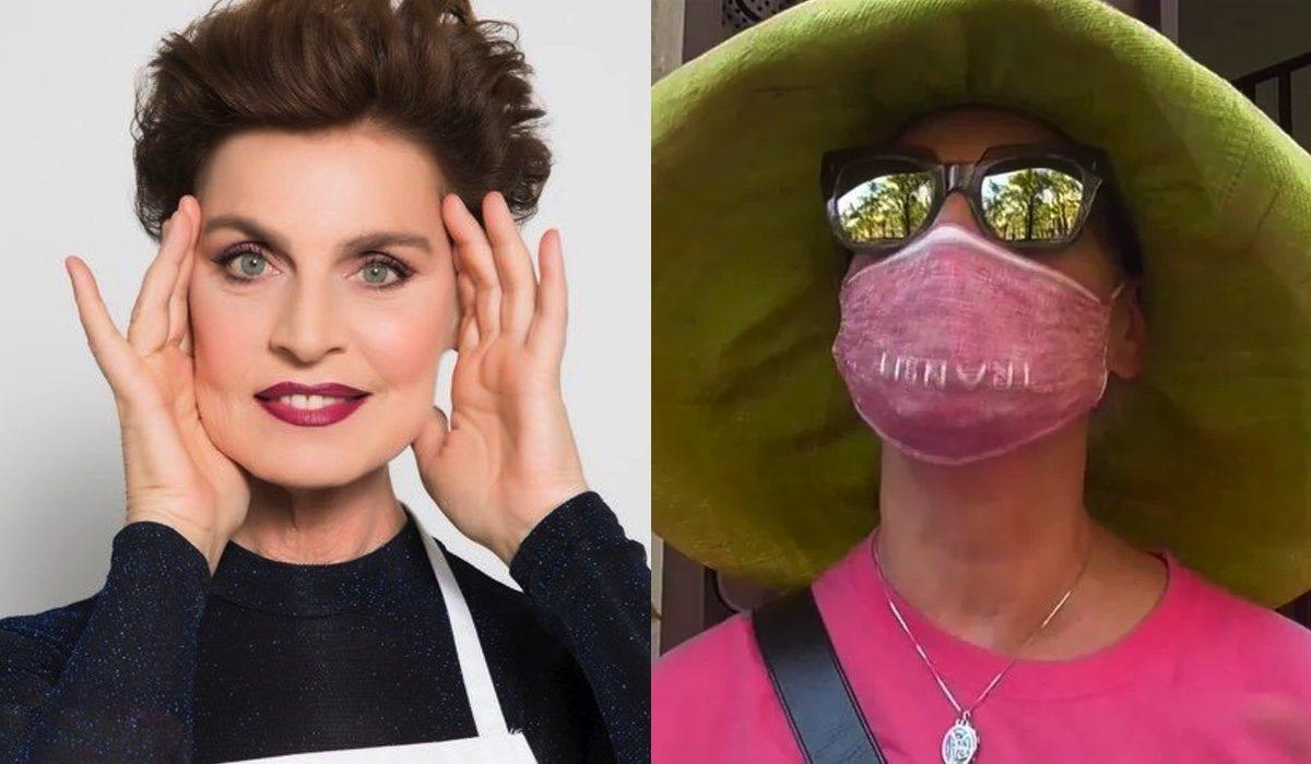 Antonia Dell'Atte, dans `` MasterChef Celebrity '' et se remet de l'accident
