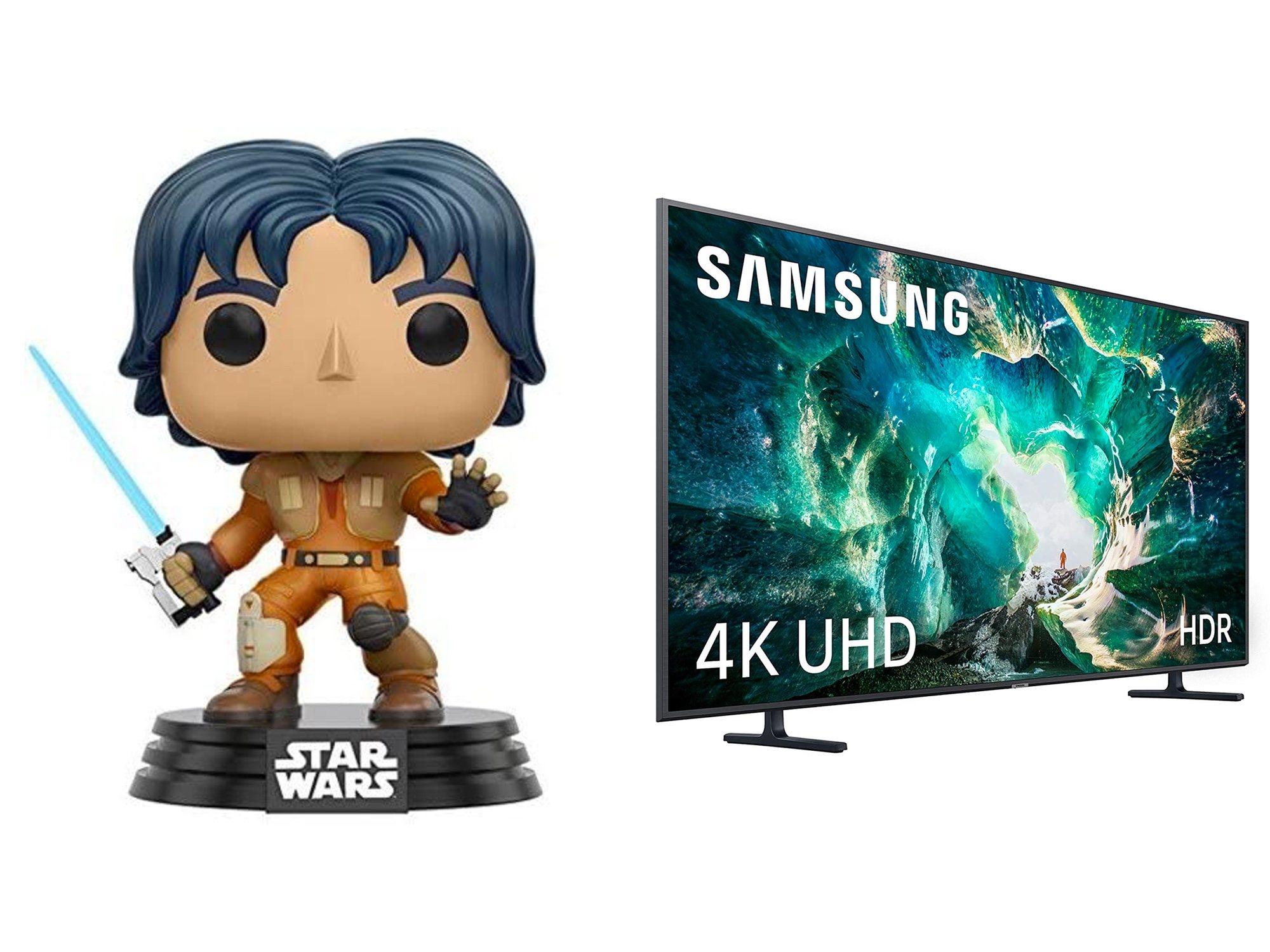Funko d'Ezra de 'Star Wars: Rebels' et Samsung Smart TV 55 '