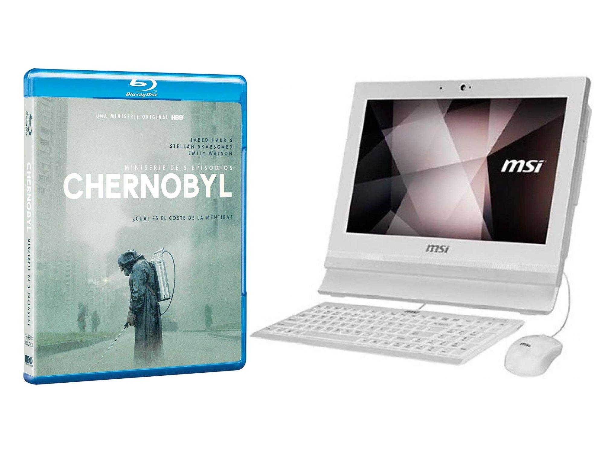 Ordinateur de bureau 'Tchernobyl' et MSI Pro