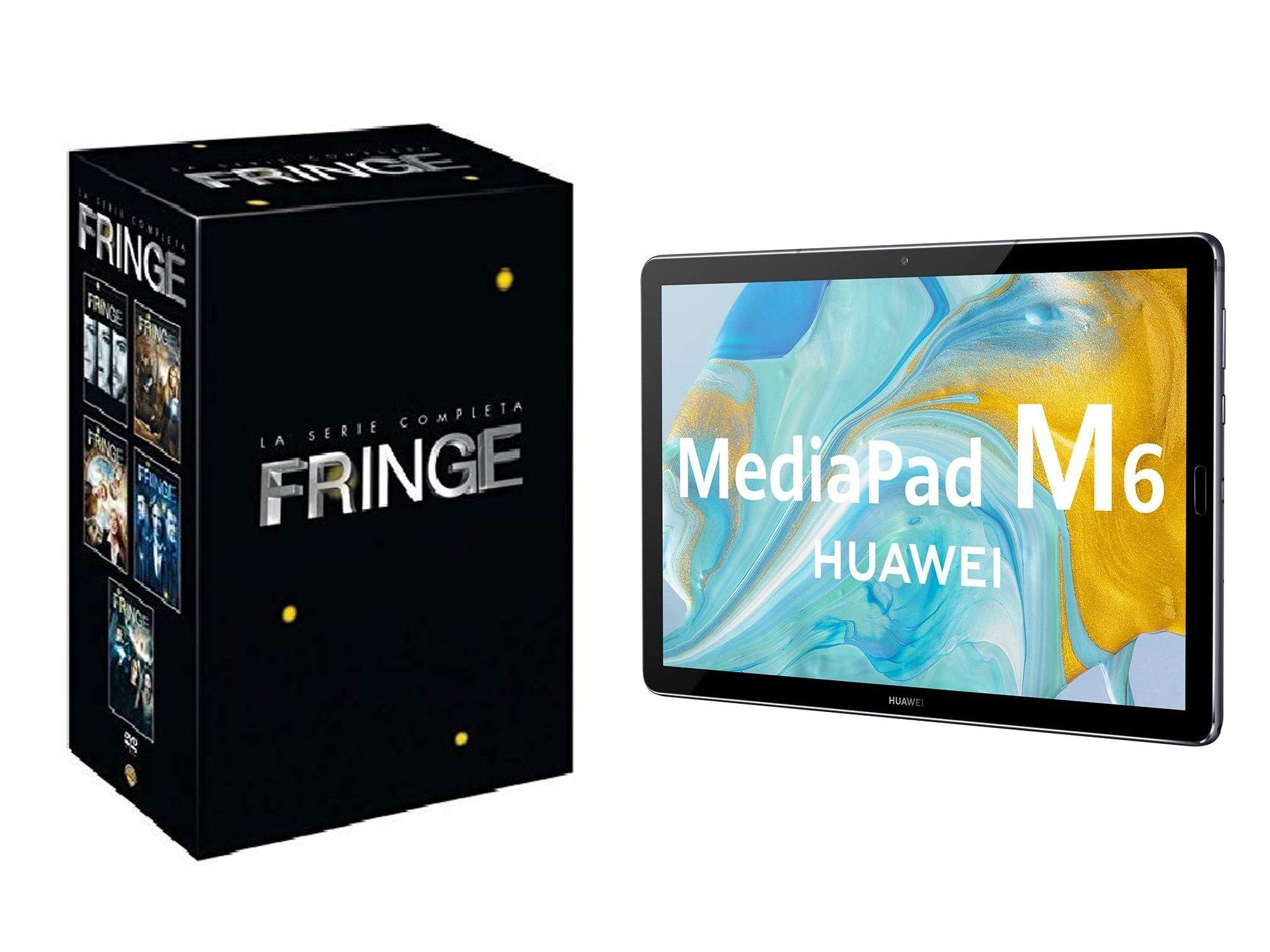 Fringe et Huawei MediaPad M6