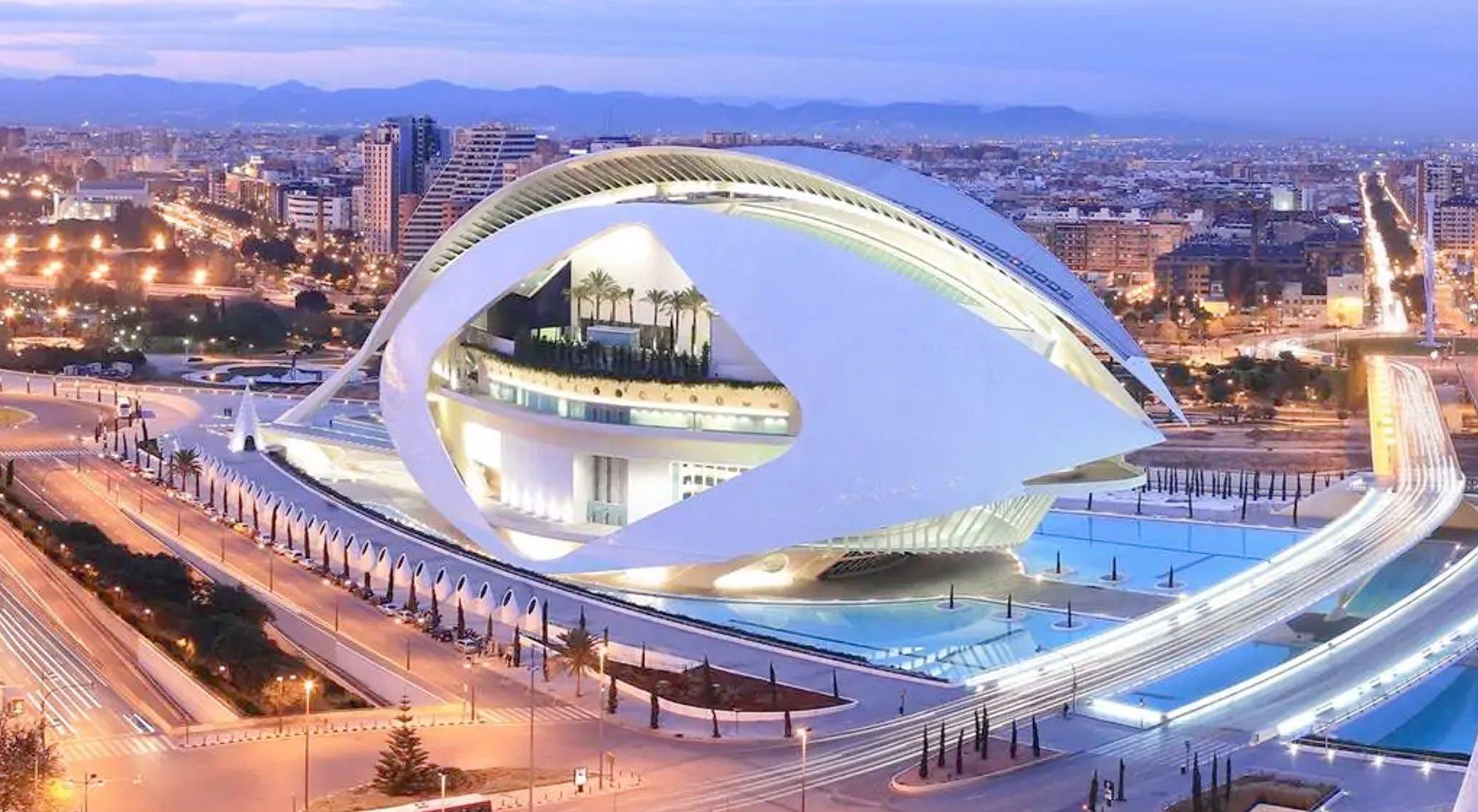 Palau de les Arts à Valence