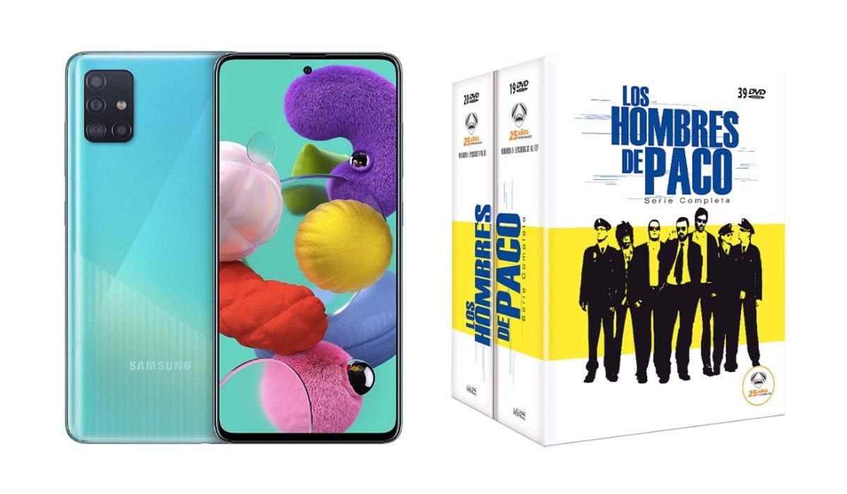 Samsung Galaxy A51 et 'Paco's Men' terminés