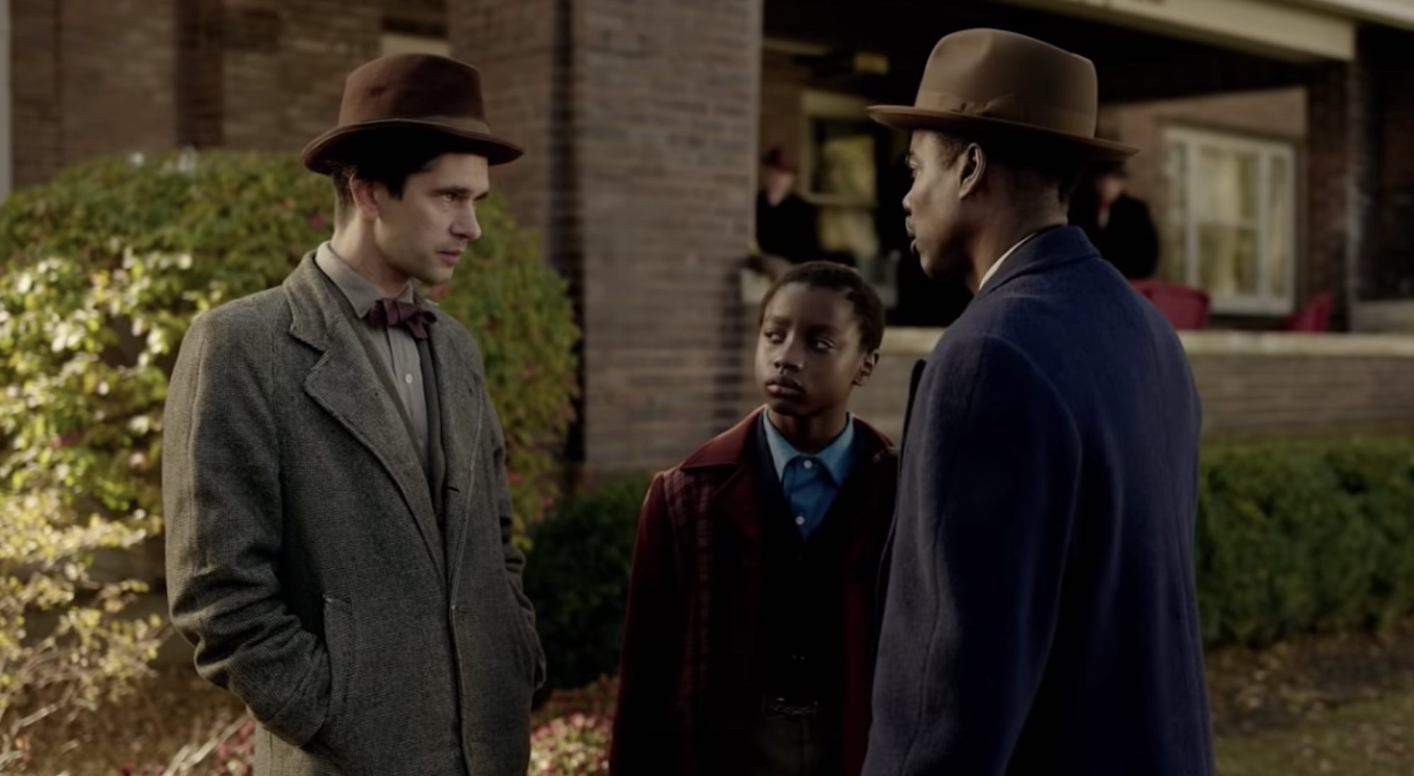 Ben Whishaw y Chris Rock en 'Fargo'