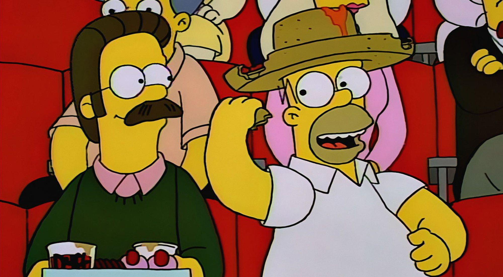 Flanders and Homer, très proches dans le 5x16 de 'The Simpsons'