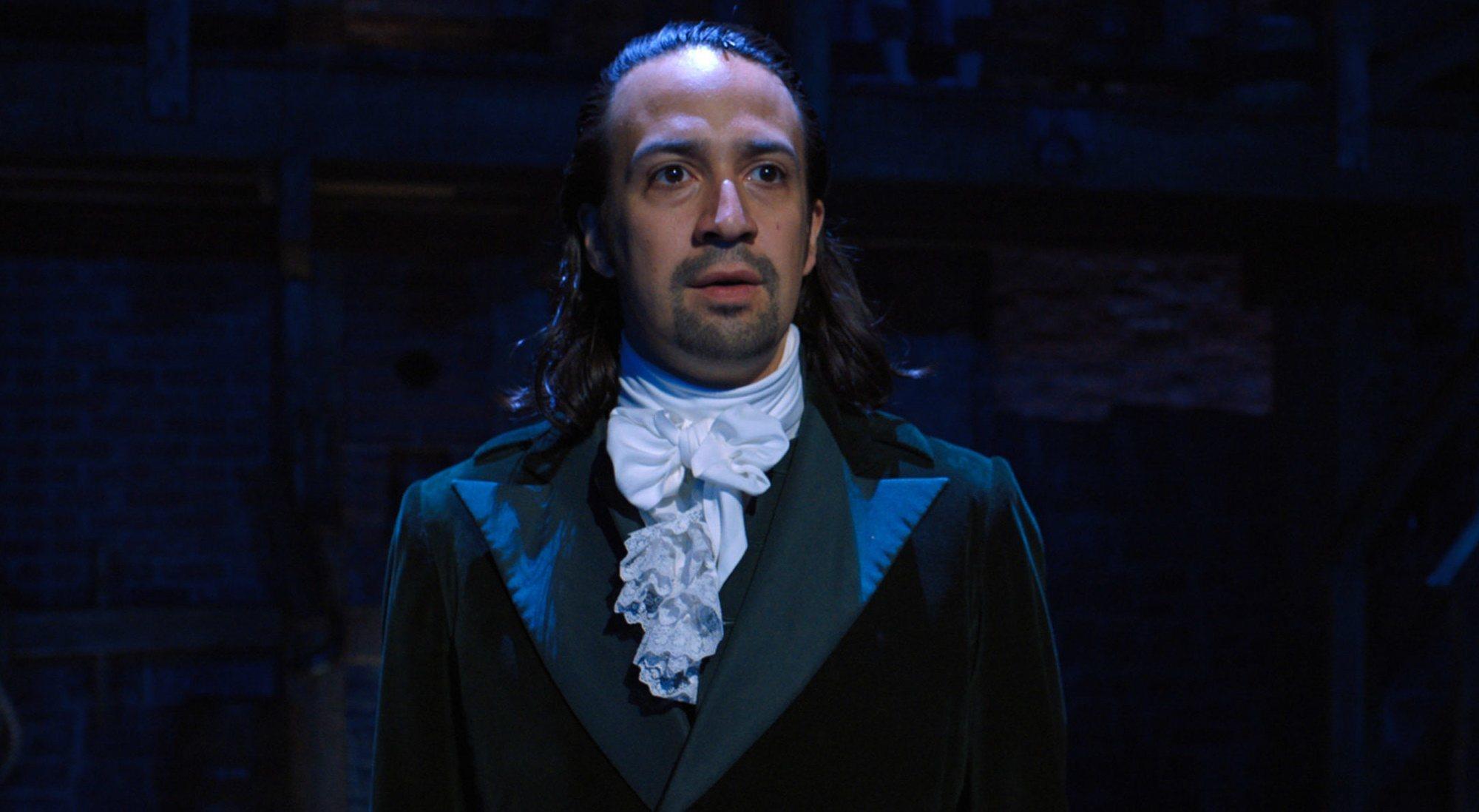 Lin-Manuel Miranda dans 'Hamilton'