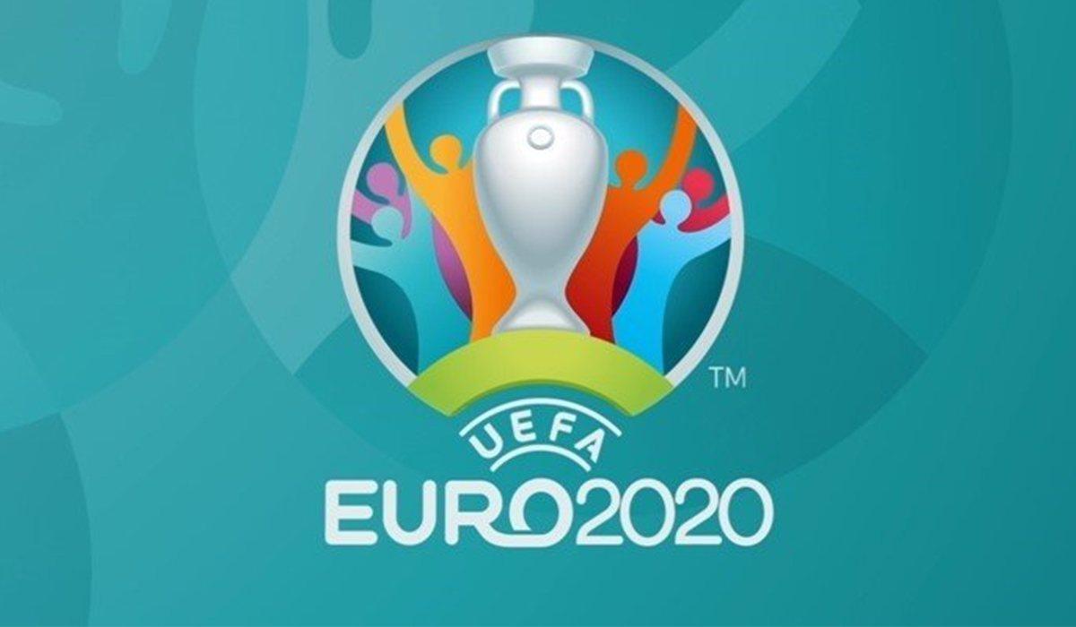 Logo officiel de l'Euro 2020 qui a été reporté à 2021