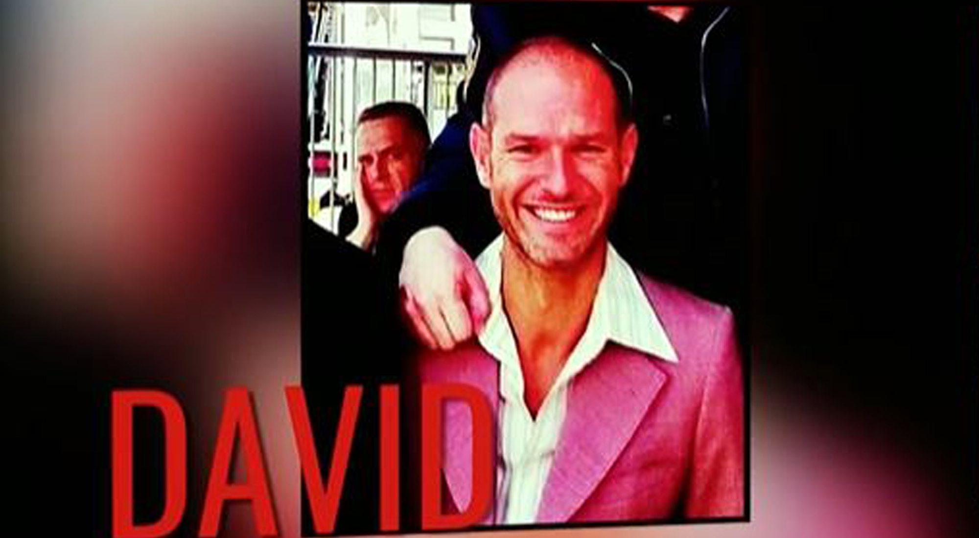 David, pretendiente de Jorge Javier Vázquez
