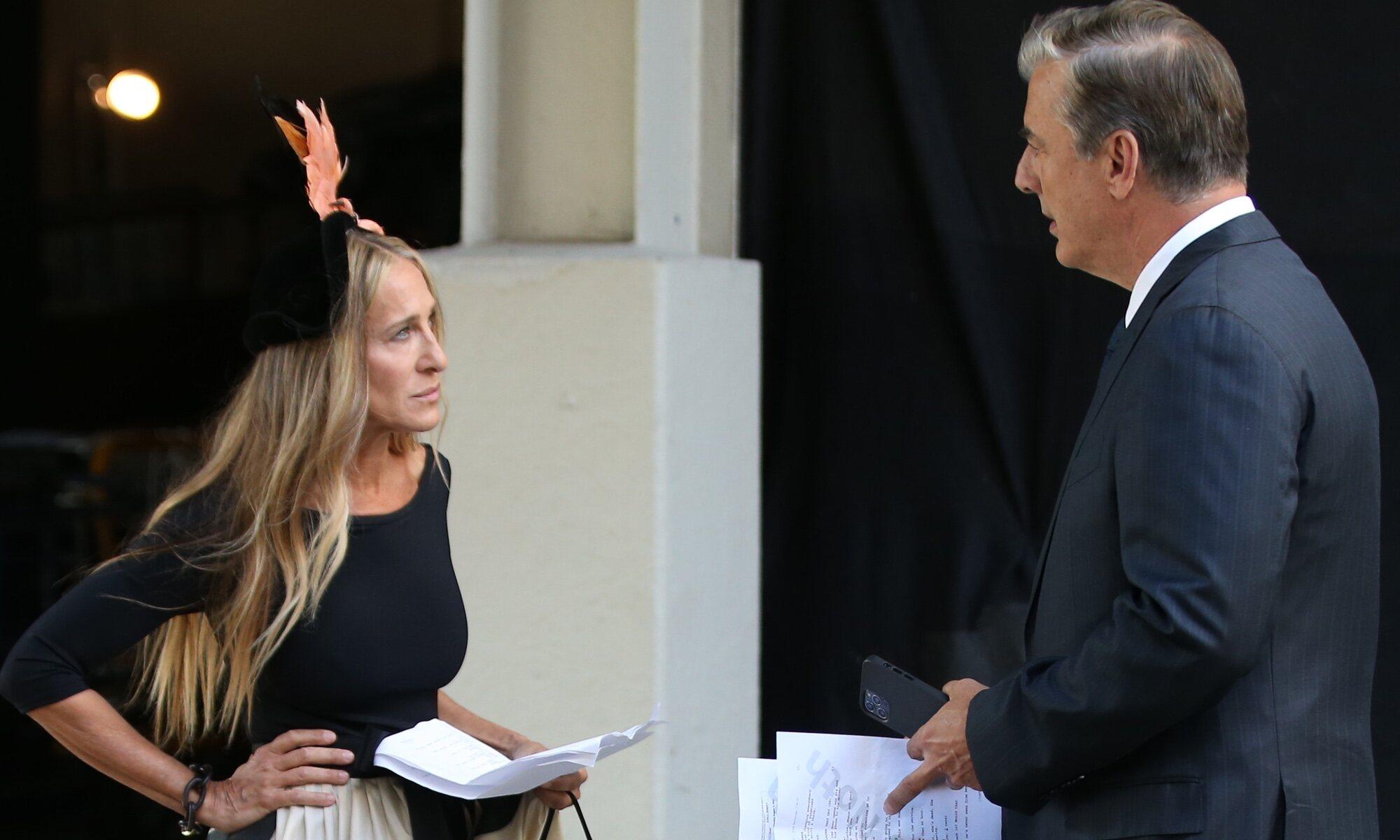 Primeras imágenes de Carrie y Mr. Big en el rodaje de 'And Just Like That',  la secuela de 'Sexo en Nueva York'