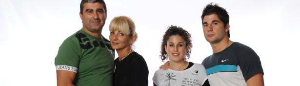 """Estas son las tres familias de """"Perdidos en la tribu 2010"""" 1"""