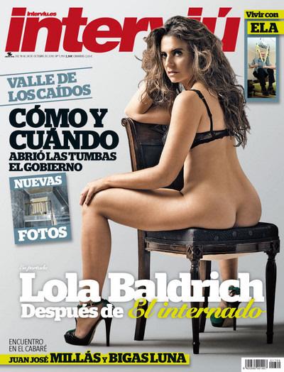 Lola Baldrich De El Internado Desnuda En Interviú