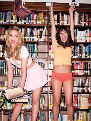 Dianna Agron y Lea Michele Glee sexys