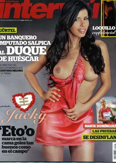 Jacky De Mujeres Y Hombres Se Desnuda En Interviú