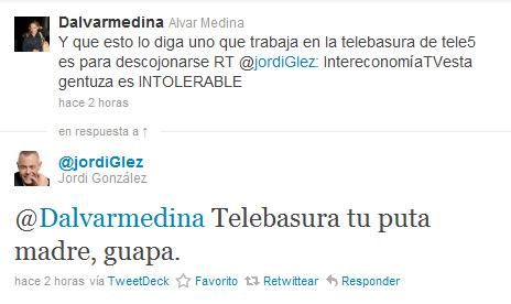 Jordi González Telebasura Tu Puta Madre Guapa