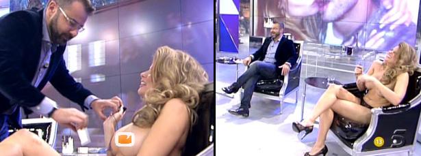Jorge Javier Vázquez Entrevista A María Lapiedra Desnuda