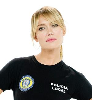 La actriz, Patricia Conde, interpreta a la policía Paula Noval en 'buenAgente'