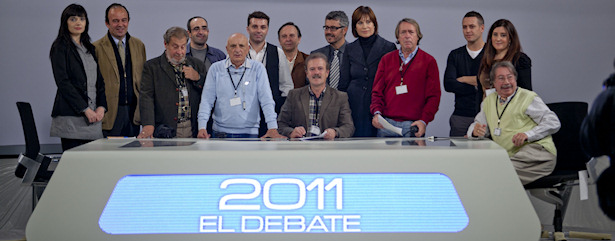 Debate 2011 Rajoy-Rubalcaba