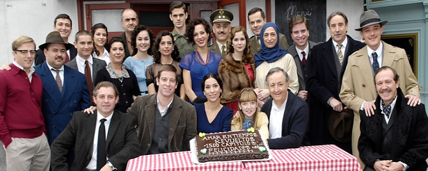 La exitosa \'Amar en tiempos revueltos\' cumple 1.500 episodios en La 1