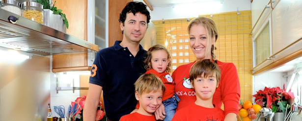 Canal cocina muestra a sus cocineros en 39 la navidad de for Diana cabrera canal cocina