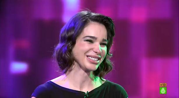 Beatriz Montañez, emocionada en su despedida de 'El intermedio'