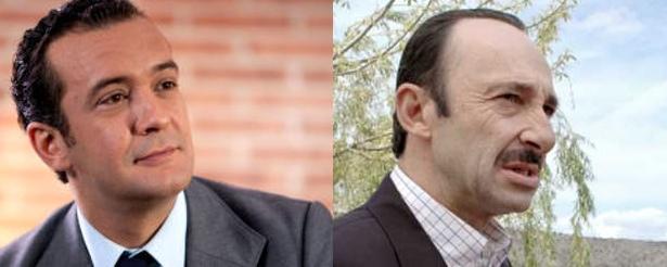 José Luis García y Manuel Manquiña