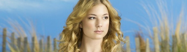 Emily VanCamp, protagonista de 'Revenge' en el papel de Emily Thorne