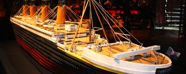 objetos titanic