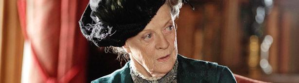 Maggie Smith se enfrentará a Shirley McLaine en los nuevos episodios de 'Downton Abbey'.