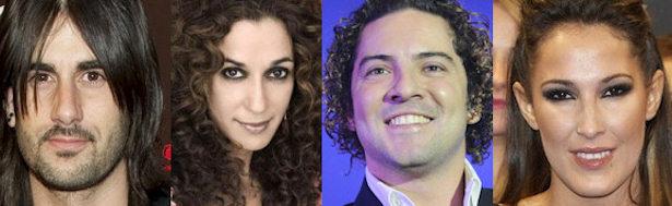 Melendi, Rosario, David Bisbal y Malú serán el jurado de 'La Voz'.