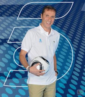 Paco González, narrador de la Eurocopa 2012.