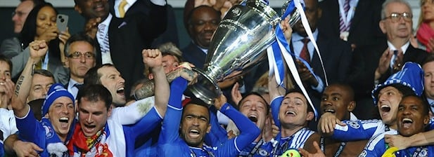 El Chelsea levanta la Champions League 2012