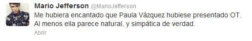 Jefferson contra Pilar Rubio