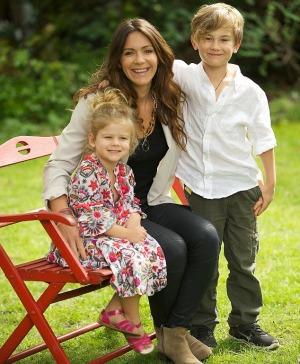 La viuda y los hijos de Andy Whitfield