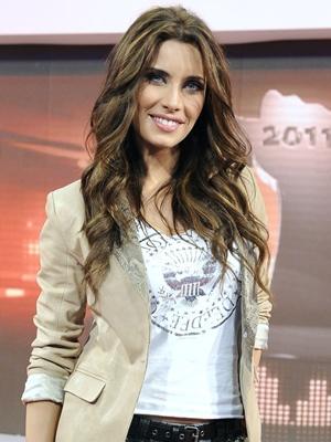 Pilar Rubio presentó 'Operación triunfo 2011'
