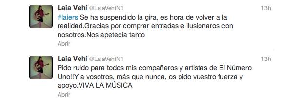 Tweets de Laia Vehí