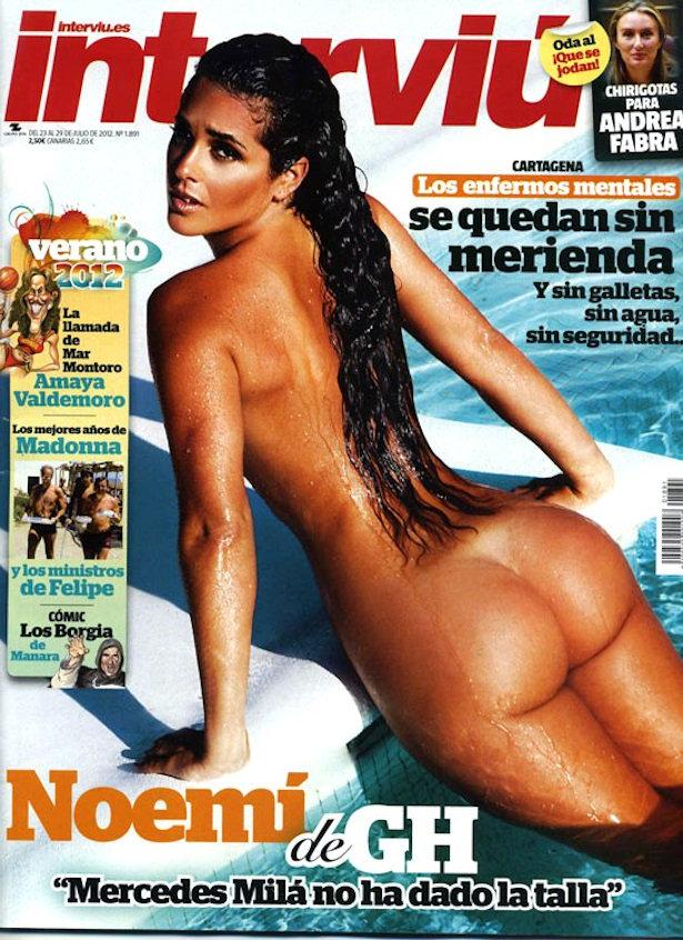 Noem Merino De Gran Hermano Se Desnuda En Intervi