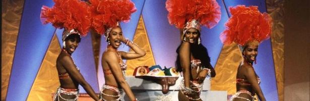 El Ballet Cacao Maravillao amenizaba el programa