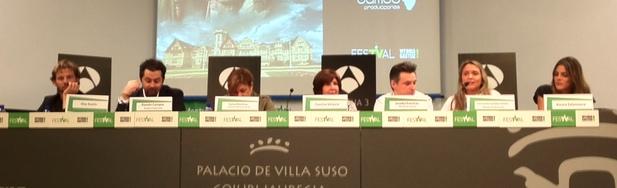 Rueda de prensa de 'Gran Hotel' en el FesTVal