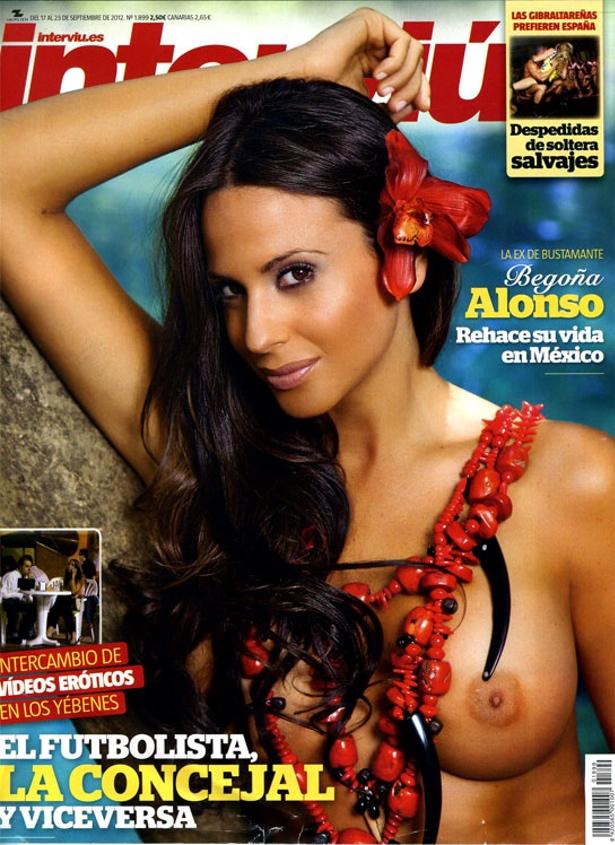 La Superviviente Begoña Alonso Se Desnuda En Interviú