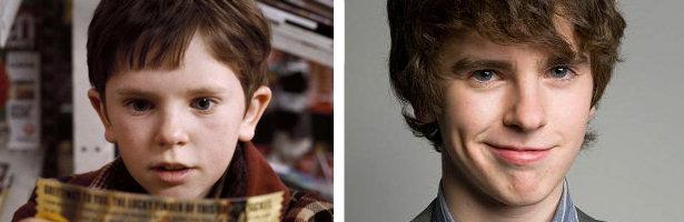 Freddie Highmore ha crecido pero continúa actuando a sus 20 años