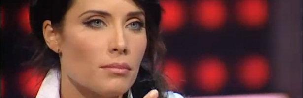 Pilar Rubio durante su entrevista en 'Territorio Comanche'