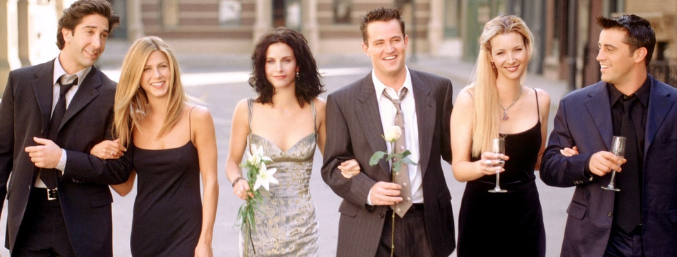 David Schwimmer, Jennifer Aniston, Courteney Cox, Matthew Perry, Lisa Kudrow y Matt LeBlanc: el reparto de 'Friends'