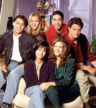 El reparto de 'Friends' en su primera temporada