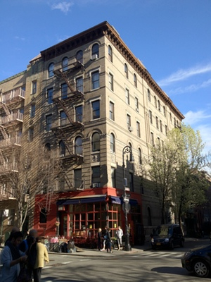 El edificio de 'Friends' en Nueva York