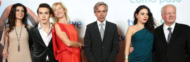 El elenco de 'Cuéntame cómo pasó' en San Sebastián