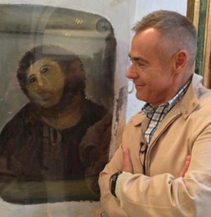 Jordi González y el Ecce Homo