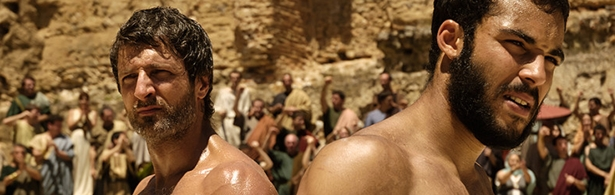 Jesús Olmedo y Nasser Saleh en 'Imperium'